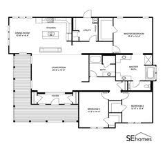 Small Modular Homes Floor Plans Clayton Homes Home Floor Plan Manufactured Homes Modular