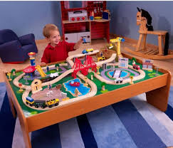 thomas the train activity table and chairs 100 piece wooden train set thomas and friends small table toys kid