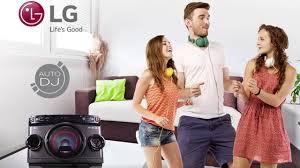 lg audio u0026 hi fi systems mini hifi u0026 stereo systems lg uk lg om4560 nueva microcadena bluetooth 2016 review youtube