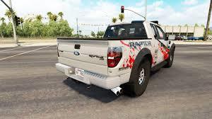 Ford Raptor Fire Truck - f 150 svt raptor v2 2 for american truck simulator