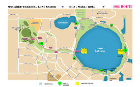 Orlando Parks Map by Cfnl Wounded Warfighter Lone Sailor 5k 10k April 1 2017