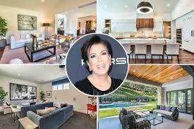 Kris Jenner Bedroom Furniture Kris Jenner Buys 9 9 Million Hidden Hills Home Celebuzz