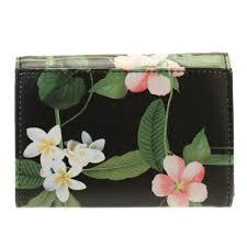 buy ted baker womens black berriz secret trellis crosshatch mini purse