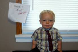 cobo the office who to be for halloween