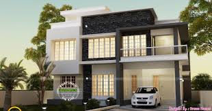Contemporary Style Homes by Double Storey Contemporary Style Home Design Architecture And
