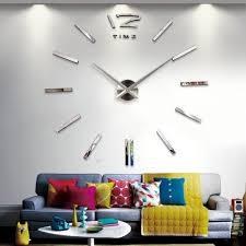 Decorative Wall Clock Popular Decorative Wall Clocks Buy Cheap Decorative Wall Clocks