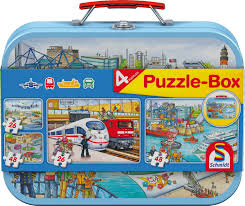 puzzle schmidt spiele 56508 26 pieces jigsaw puzzles cars and