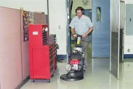 nash janitorial vinyl floor care service
