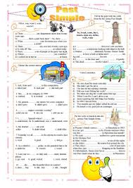437 free esl past simple vs continuous tense worksheets