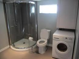 basement bathroom laundry room combo https i pinimg com 736x 37