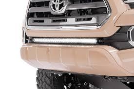 30in single row led light bar hidden bumper kit for 2016 2017