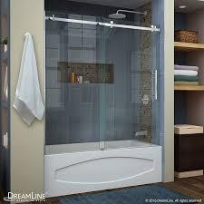 designs appealing frameless bathtub shower doors photo frameless