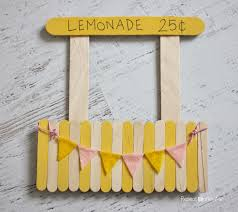 lemonade stand magnetic picture frame repeat crafter me kid