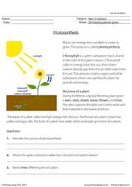 primaryleap co uk photosynthesis worksheet science printable