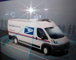 postal vehicles postal service looks to automate its fleet the drive