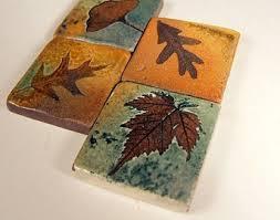 Ceramic Backsplash Tiles View Backsplash Tiles Trivets By Potsbydeperrot On Etsy