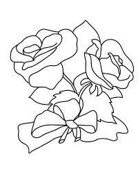 rose coloring pages coloringsuite com