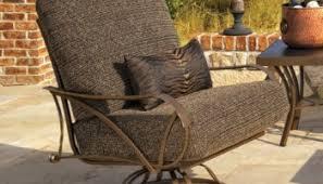 Wrought Iron Swivel Patio Chairs Wrought Iron Black Swivel Patio Bar Chairs 2 Pack Outdoor Garden