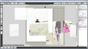 how to plan scrapbook layouts in silhouette studio youtube