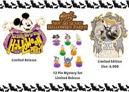 first look at 2017 mickey u0027s not so scary halloween party trading pins