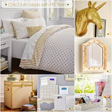 Pottery Barn Dorm Room Chic Dorm Bedroom Do Over Lil Bits Of Chic By Paulina Mo San