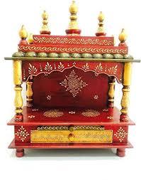 home mandir decoration amazon com mereappne wooden pooja mandir indian hindu