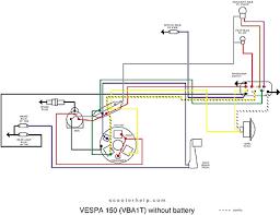 vespa vba wiring diagram vespa wiring diagrams collection