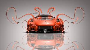 Nissan 350z Orange - nissan 350z veilside fantasy plastic bodykit 2013 el tony