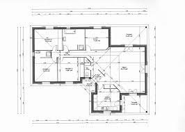 plan plain pied 2 chambres plan de maison plain pied 2 chambres plan de maison galerie avec