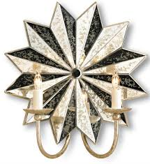 Mexican Wall Sconce Starburst Wall Sconce Currey And Company