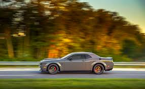 widebody demon 2018 dodge challenger srt demon driven this muscle car sends
