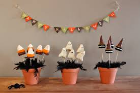 cool halloween garland happy halloween letter paper material witch