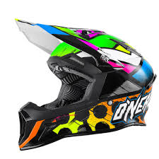 neon motocross gear o u0027neal 10series helmet glitch black neon 2016 mxweiss motocross shop