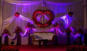 valentine theme wedding decor cochin kochi kerala wedding