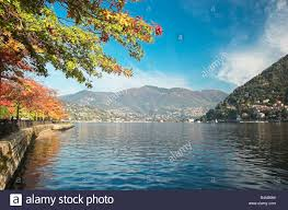 Lake Como Italy Map Lake Como Italy Autumn Stock Photos U0026 Lake Como Italy Autumn Stock