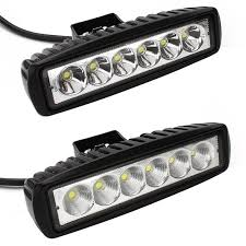 6 inch light bar 6inch 18w mini led bar 12v led work light spot flood fog l for