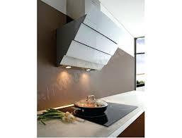 cuisine hotte aspirante hotte aspirante verticale cuisine de noir escamotable zena