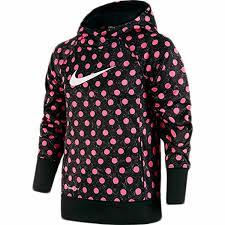 nike girls ko 3 0 polka dot hoodie pullover walmart com