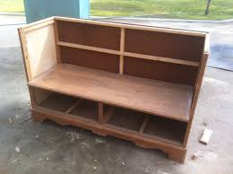 Bench Made From Old Dresser Crafty In Canada Dresser To Bench Dresser Bench Pilotproject Org