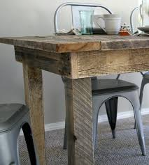 Attractive Barnwood Kitchen Table Also Barn Wood Canada Decorative - Barnwood kitchen table