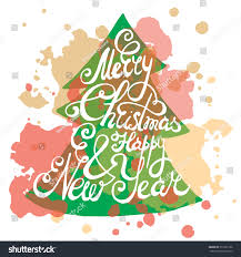 merry happy new year greeting stock vector 351952196