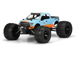 Ford Raptor Nitro Truck - 2017 ford f 150 raptor monster truck body clear by pro line