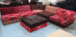 roche bobois mah jong modular sofa made up of five sections