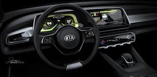 pagani interior dashboard kia telluride concept u0027s interior revealed ahead of detroit debut