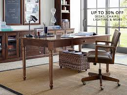Office Furniture Sale Pottery Barn Office Furniture Sale In Dark Color Ideas Home