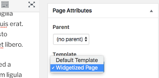 how to widgetize any page post or template in wordpress wpmu dev