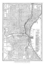 Map Of Milwaukee Wisconsin by Milwaukee Map Street Map Vintage Poster Print
