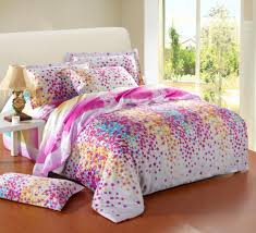 bedroom cheerful living with colorful beddings colorful bedding