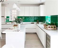 peinture verte cuisine quelle couleur pour les murs d une cuisine blanche habitatpresto
