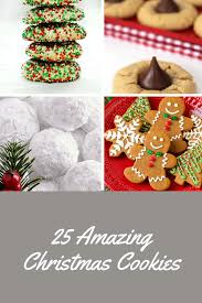 25 christmas cookie recipes refresh restyle
